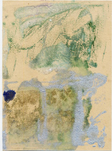 field / monoprint ink 1991