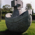 image of large stone sculpture